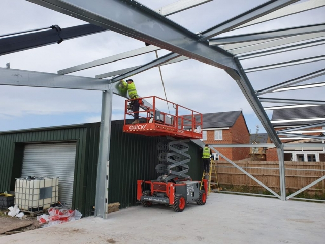 Cold rolled steel frame