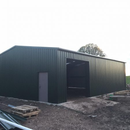 Steel Storage building completed in Cheshire