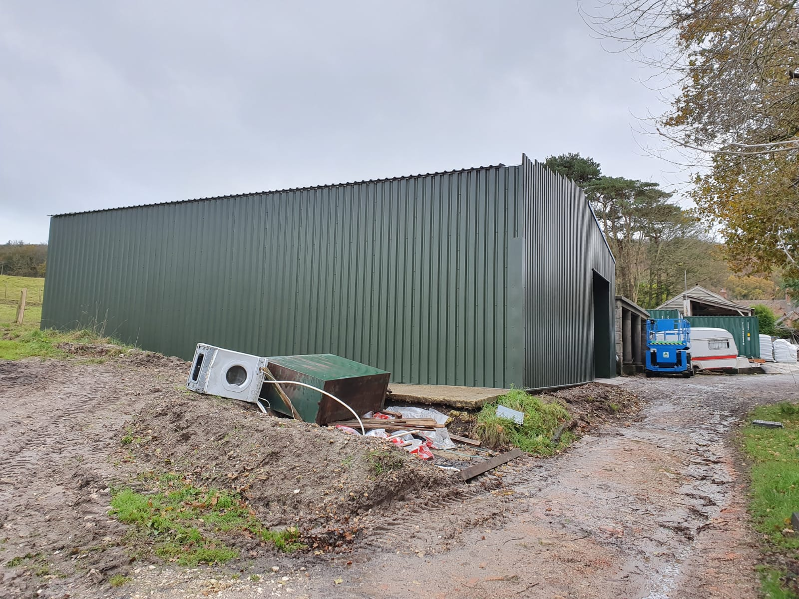 Cladding nearing completion