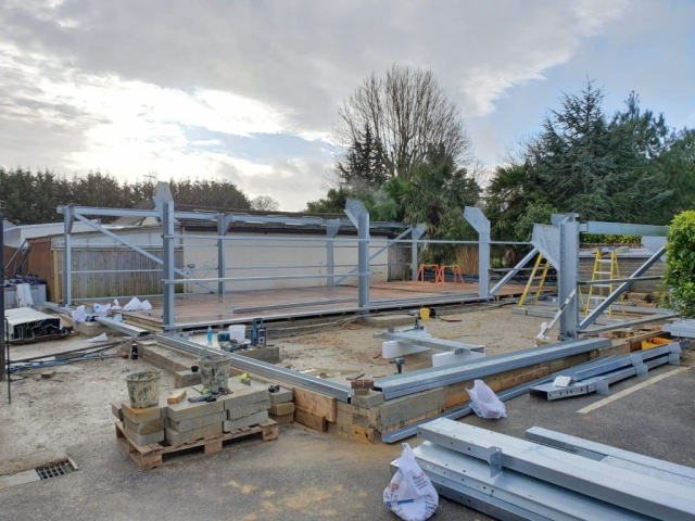 Cold Rolled Galvinised Steel Frame