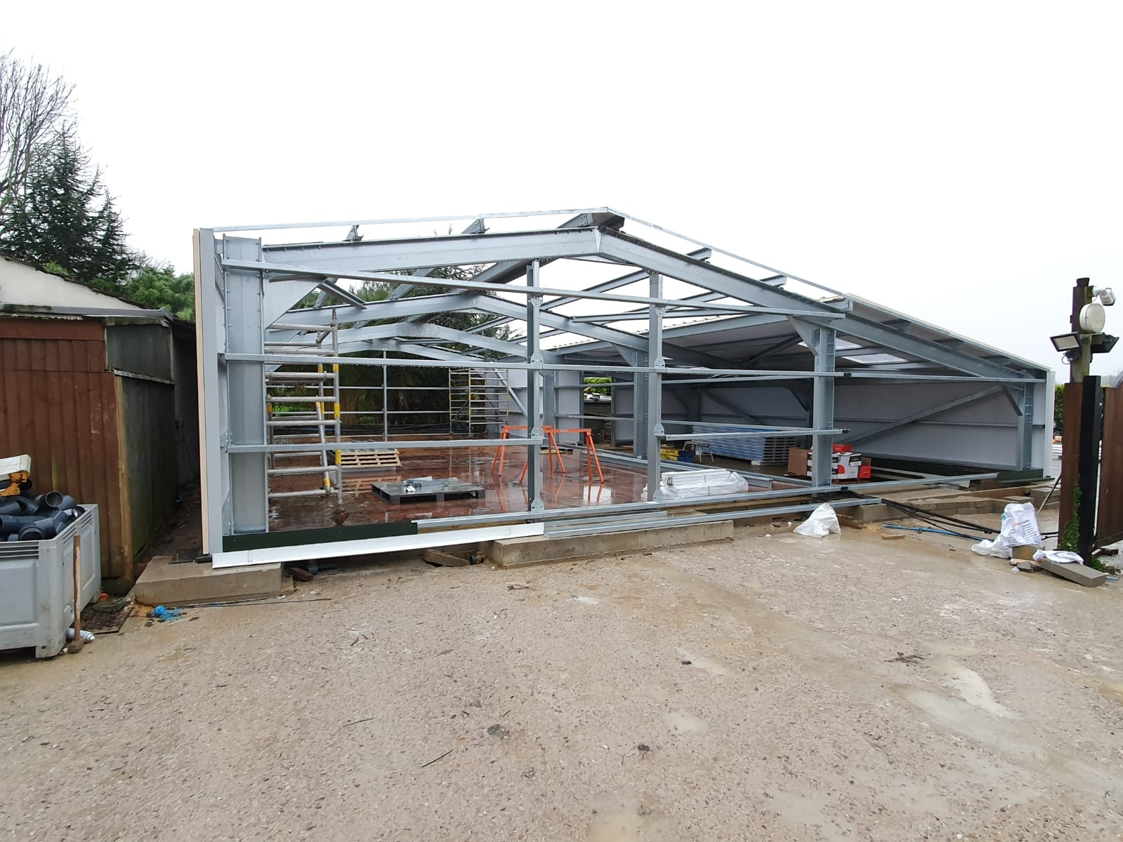 Completed Cold Rolled Steel Frame