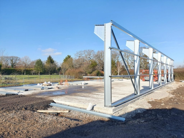 Cold Rolled Frame Installation