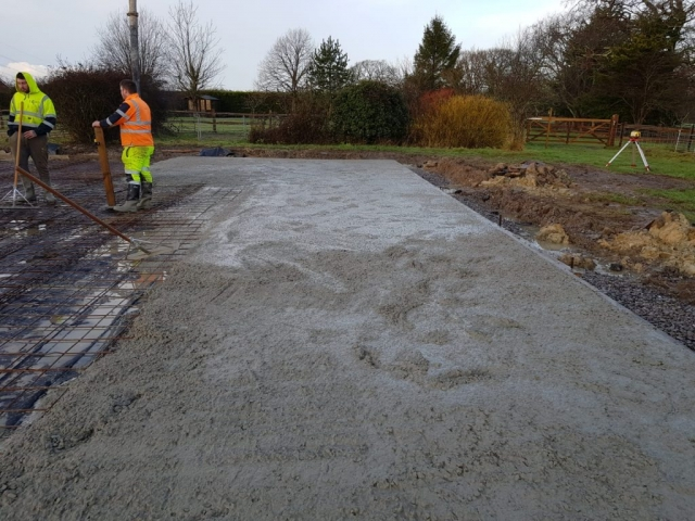 Concrete preparation