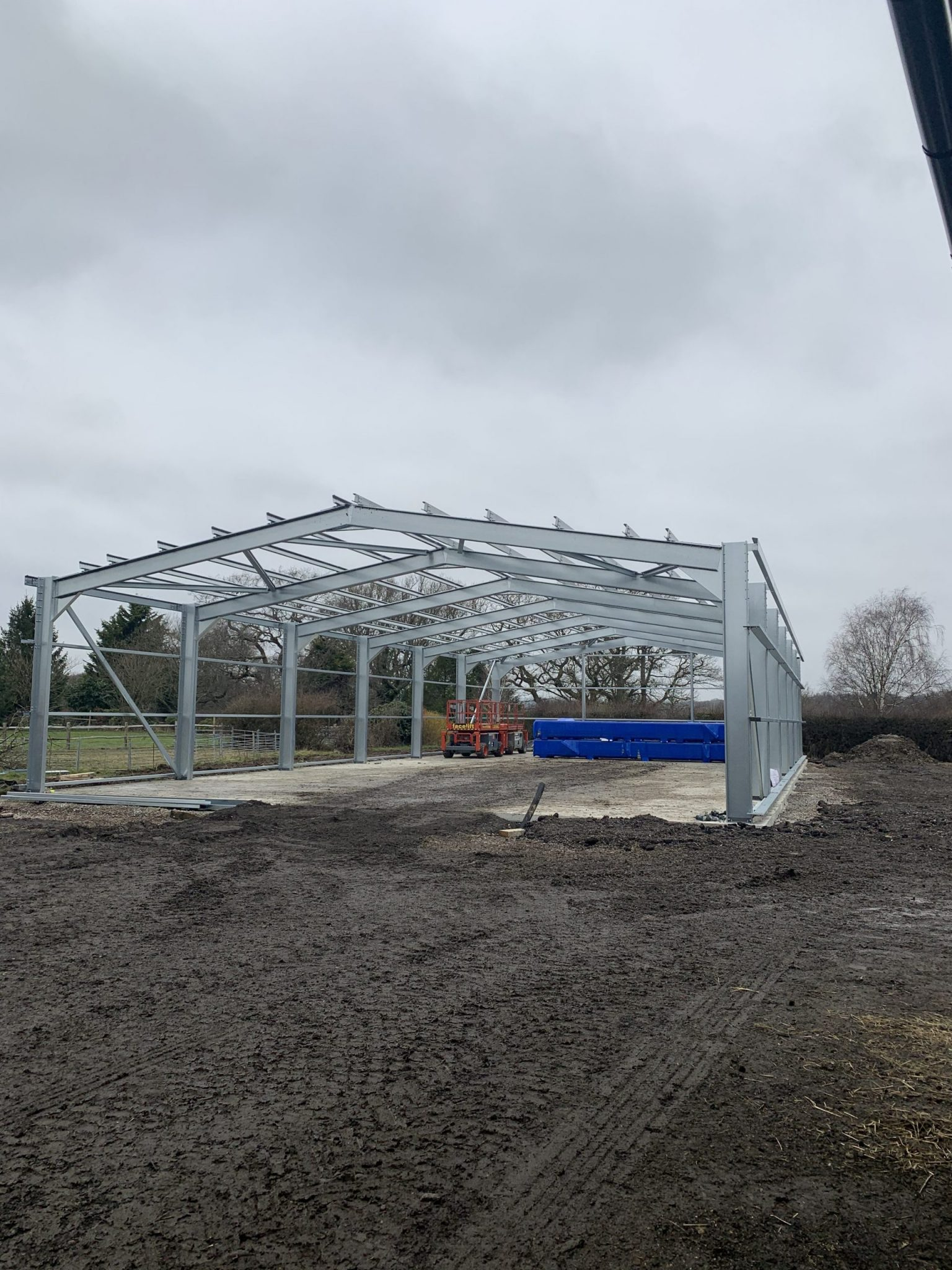 Completed Cold Rolled Frame