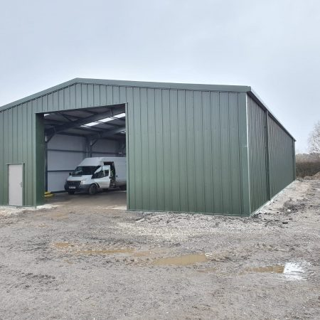 Cold Rolled Storage Building